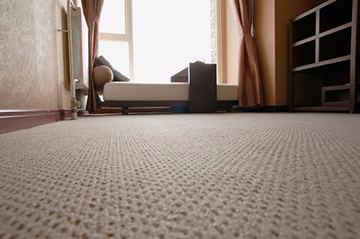 Carpet in a bedroom